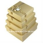 Promotional custom made kraft paper gift box with factory price