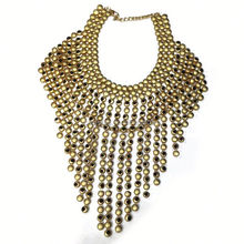 2014 Newest Fashion design best quality fast delivery Women Girls Necklace metal alloy