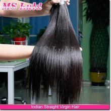 Ms Lula 100g/pcs No shedding free tangle virgin unprocessed indian sexi women hair for good