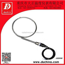 C type Armoured thermocouple with GH3030 protection tube for Industry