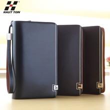 SZB83X china wholesale genuine leather men wallet clutch bag
