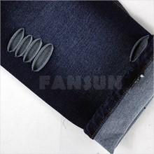 96% cotton 4% spandex printed knit denim fabric for dress