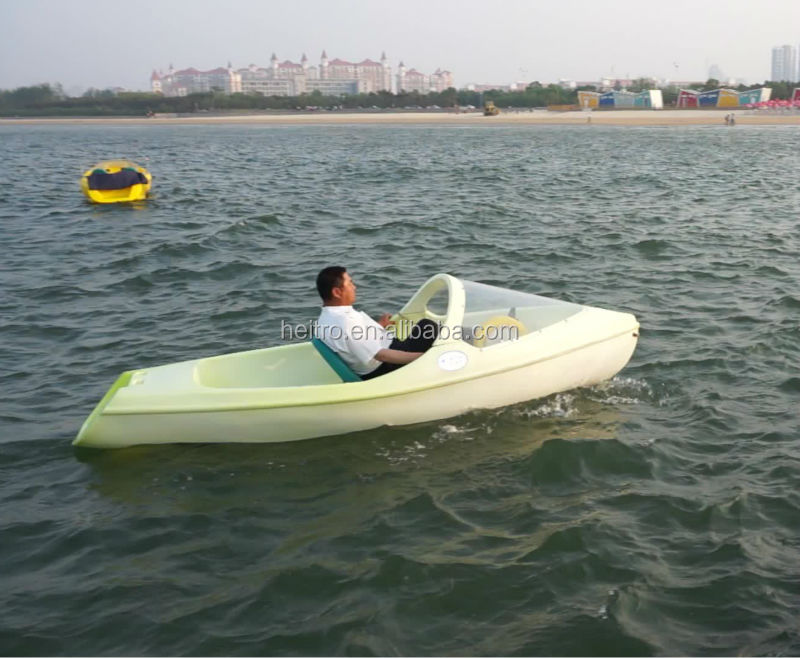 Fishing plastic boat pedal boat buy fishing plastic boat for Two man fishing boat