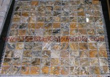 Modern design stone mosaic tile bathroom tile/beautiful hot sale bathroom tile/EXPORTER OF PAKISTANI JAGUAR MARBLE MOSAIC TILES