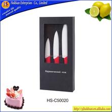 2015 Best Seller 3pcs Kitchen Ceramic Knife Set