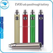 Promotional price !! 2015 new products electronic cigarette real capacity 650, 1600 mah ego mini vivi usb passthrough battery