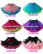 top quality nylon petti skirt halloween items