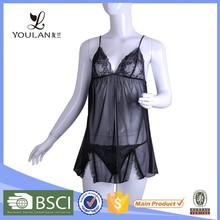 Top Selling Perspective Gauze Mature Matching Panty Black See-Though Lingerie Www.Sex.Com