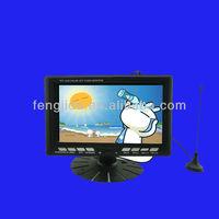 7 inch tft color monitor super tft lcd color tv