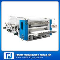 Facial tissue paper interfold machine/facial tissue machine supplier