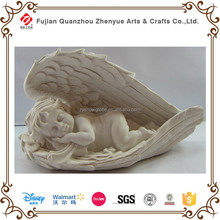 Handmade pure resin decor angel