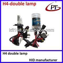 12v 35w H4 factory price Xenon Lamp hid 35w dual hid bulb