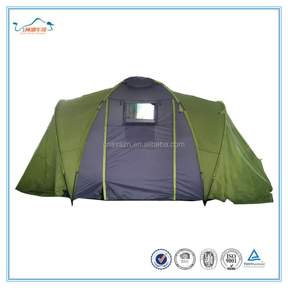 Double couches grande tente avec 2 de couchage chambres for Tente deux chambres