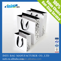 2015 New Products Custom/Wholesale Recyclable cheap paper bags with custom logo