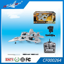 2015new 2.4G F-22 fighter 4 channel rc helicopter, RC aircraft, RC foam rc quadcopter without camera rc drone