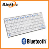 Mini Slim metal & ABS material bluetooth keyboard for tablet support WIN, Android, iOS systems