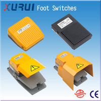 pedal foot switch with safe cover china supplier / 250vac drill machine foot switch / electric control foot switches