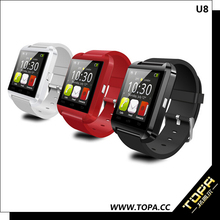 cdma gsm dual sim android wrist watch phone with capacitive touch screen