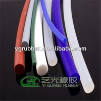 round elastic silicone rubber cord 1mm 2mm 3mm 4mm
