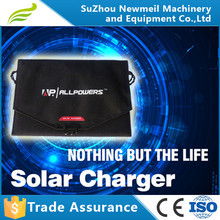 12w 5v 2180MA portable solar panel battery charger for phone computer