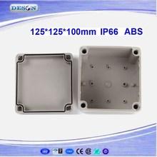 125*125*100mm Electrical ABS/PC IP66 Waterproof Enclosure , Waterproof Box Series DS-AG-1212
