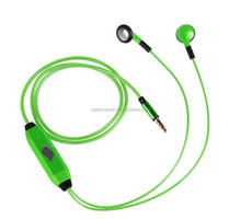 Colorful fashion cool flash music EL glow earphone luminous headset with Stereo sound+retail packaging
