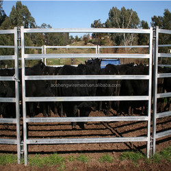 Wholesale direct from China galvanized sheet clear panels metal cattle fence panel