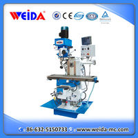 Weida XZ6350ZS milling machine power feed, vertical and horizontal milling machine, universal drilling and milling machine