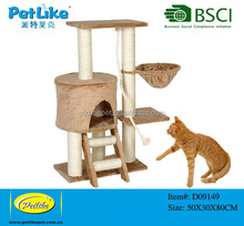 Alibaba top ten products wooden cat tower tree