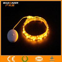 yellow solar flashing warning light/car flashing lights/flashing led lights for bike