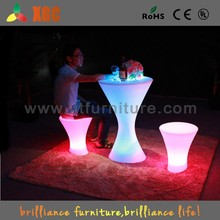 kids party tables/coffee table/round coffee table with stools
