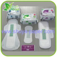 Anion Brand Sanitary Napkin Feminine Hygiene Thick Sanitary Pad Disposable Panties with Pad