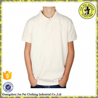 100 cotton polo shirts with knit collar and cuff