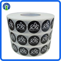 Eco friendly removable self adhesive labels, printed stickers private label custom shoes