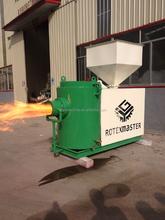2015 newest industrial Energy-efficient wood chips pellet burner