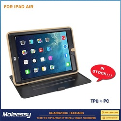 Cool back case stand for ipad 5 air