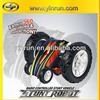 hot new products for 2014 R/C Spinning Stunt electric car transform robot toy