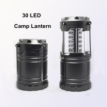 (120268) Wholesale Aluminum alloy 3*AA dry battery outdoor 30led camping lantern