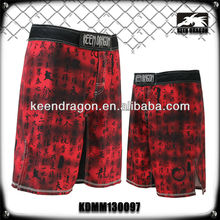 DOUBLE TWILL CHINA WHOLESALE RED MEN'S CROSS FIT WORKOUT