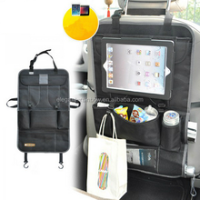 Travel car seat organizer bag