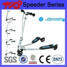 Hot sale 200mm 3 wheel kick scooter for adult