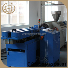 Made in China PE single wall corrugated plastic pipe machine