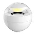 forma de bola do bluetooth alto-falante sem fio com LED piscando luz