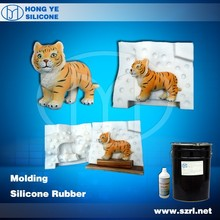 addition cure silicone rubber for big animals casting by brushing way