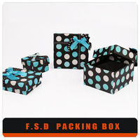 top quality packaging pet plastic gift box