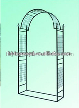 Metal decorated garden arch for sale(factory)