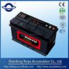 12V calcium silver maintenance free battery for automobiles