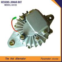 OEM customized alternator for excavator 4D120 hot sell