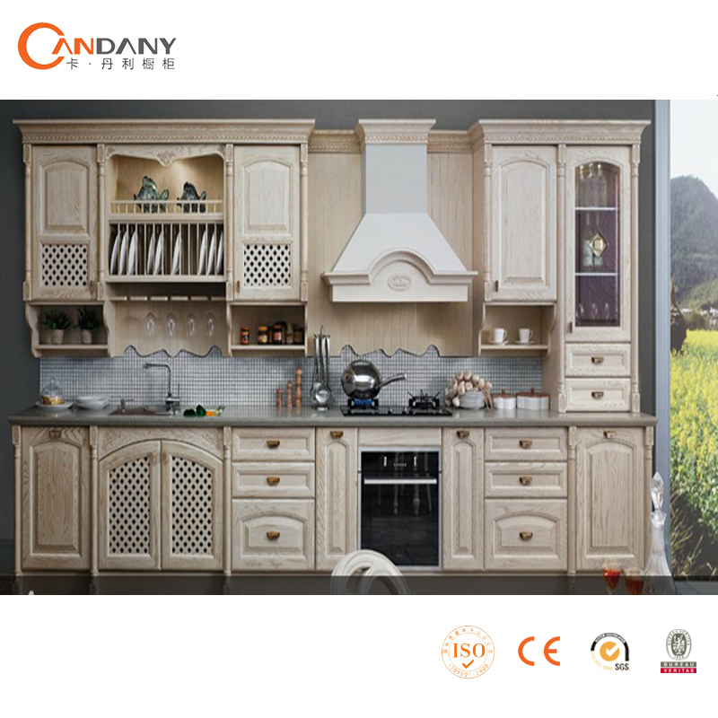 Professional Wooden Ready Made Modualr Kitchen Cabinets With Furniture
