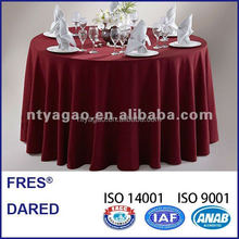 100% polyester sequin decorative round table cloth